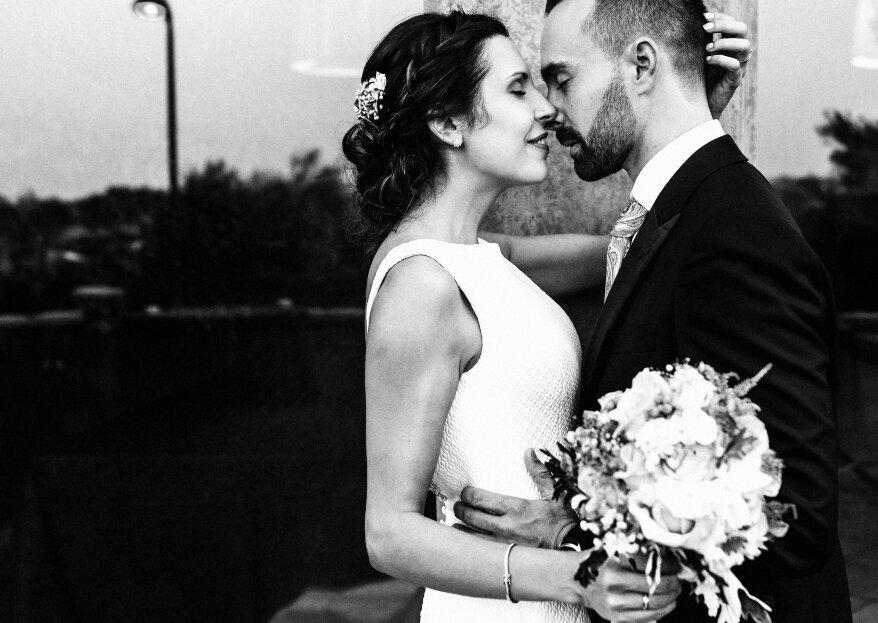 Vive, sueña, sonríe y sé feliz: la boda de Sandra y Álvaro