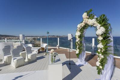 ¿Una celebración de boda fuera de lo común? En Hotel Hard Rock Ibiza vivirás una experiencia sorprendente