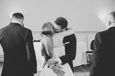 No te fallaré, somos compañeros: la boda de Elena y Samuel