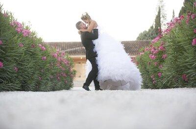Un lieu champêtre et romantique pour vos photos de mariage ? Bienvenue au Château de l'Aumérade !