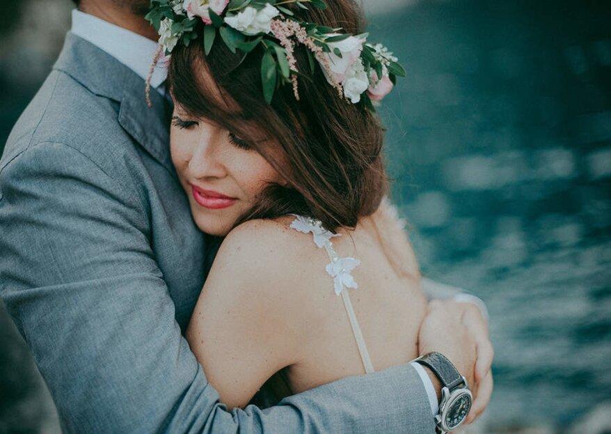 La sequenza di fotografie delle vostre nozze che vi farà emozionare: Spazio46