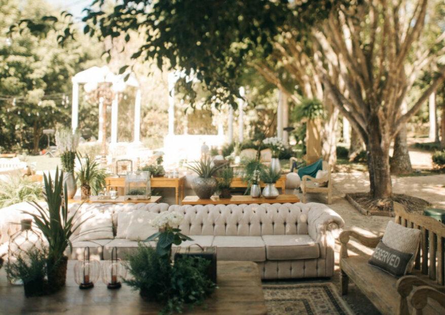 Leteche Decoracões de Eventos: especializada em destination weddings e eventos integrados à natureza!