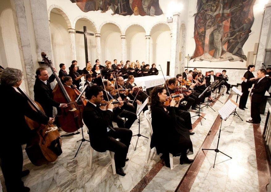 Bevilacqua Coral e Orquestra: trilha sonora exclusiva para embalar o dia mais importante da sua vida