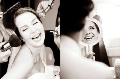 10 dicas que não te contaram sobre maquiagem de noiva