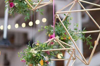 Inspiratie voor je bruiloft! Industriële decoratie voor 2017