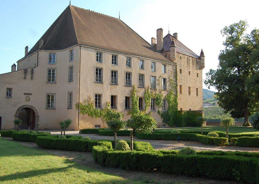 Château de Pierreclos : organiser son mariage dans un lieu au cachet historique en Bourgogne
