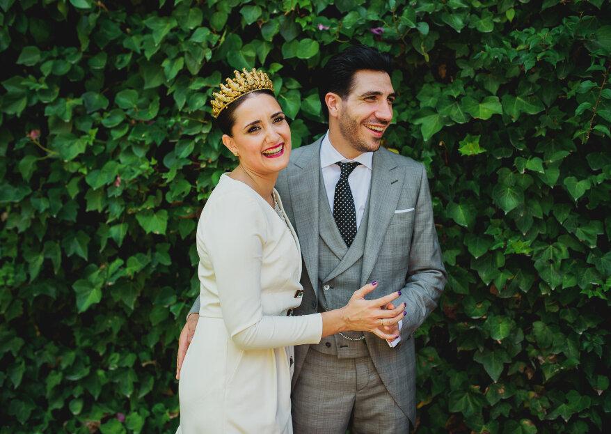 Admiración y amor: la boda de Inma y Antonio