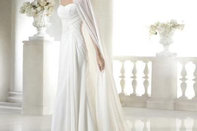 Vestidos de novia con bolero 2015: el complemento perfecto