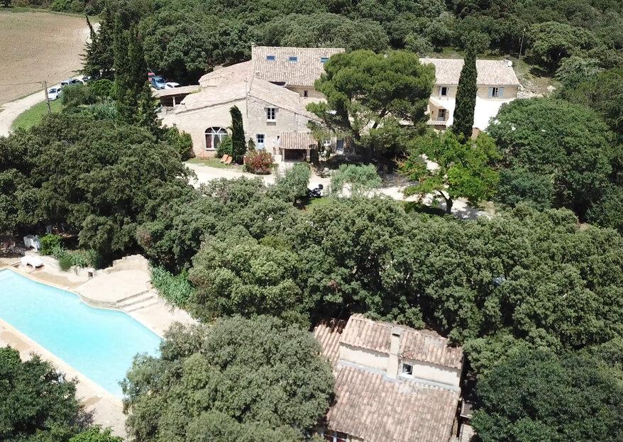 Une propriété de charme, authentique et conviviale à proximité d'Avignon : le Domaine Le Grand Belly