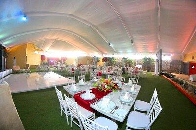 Cómo celebrar tu boda en exteriores: Zibatá Jardín