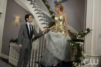 Inspírate en Gossip Girl para tu look de novia en una boda en año nuevo