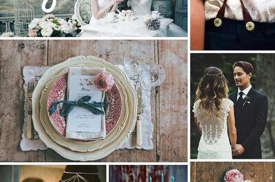 Bohemian chic classic: Un estilo que transformará la decoración de tu boda