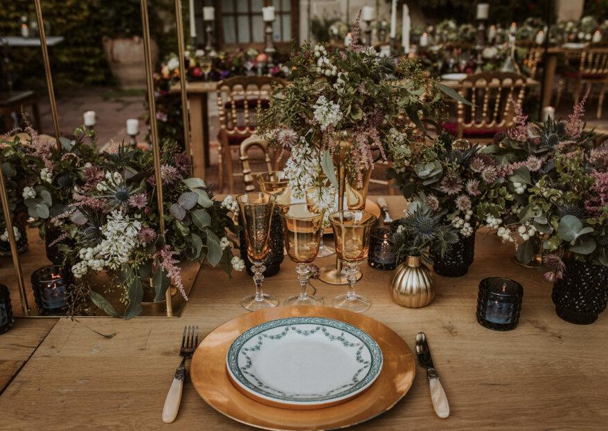 Cómo elegir la cubertería de las mesas del banquete en 5 pasos