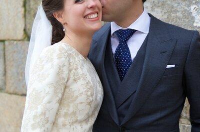 La inolvidable boda de Ana y Santiago en el Parador de Plasencia