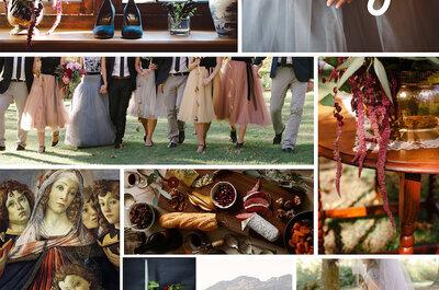 El romanticismo del siglo XVIII, una ola de inspiración infinita para decorar tu boda con detalles Wow