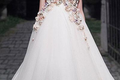 Brautkleider mit viel Tüll aus den Kollektionen von 2013