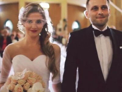 Nietypowy teledysk ślubny, czyli artystyczne podejście!