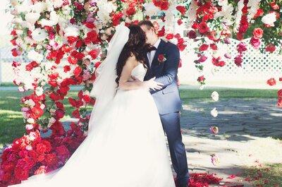 Свадьба Дмитрия и Татьяны в яркой цветовой гамме