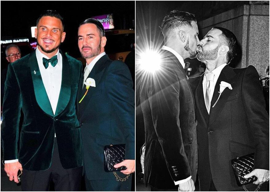 El diseñador Marc Jacobs se casó... y las invitadas más 'top' brillaron en la boda