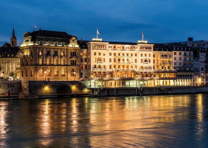 Im GaultMillau «Hotel des Jahres 2020» werden Traumhochzeiten wahr!