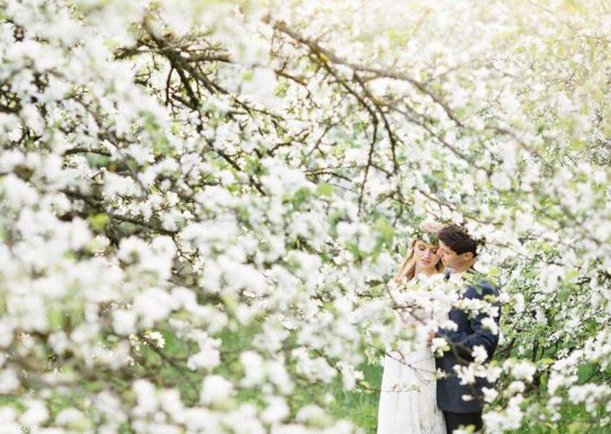Cómo organizar una boda de primavera: 5 pasos esenciales