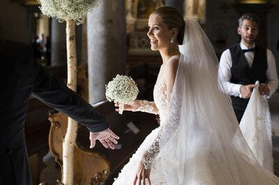 Herdeira da Swarovski se casa com um vestido de 2.8 milhões de reais!