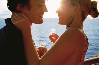 Encuentra el crucero perfecto para vivir una muy especial luna de miel