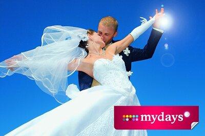 mydays – Verschenken Sie magische Momente zur Hochzeit