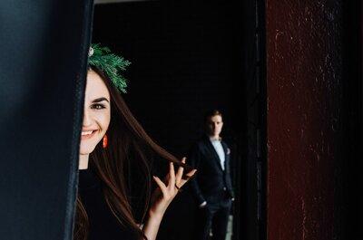 Игра на контрастах: свадебная фотосъемка Андрея и Арус