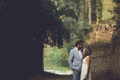 Lo hizo el destino: la boda de Olga y Pino