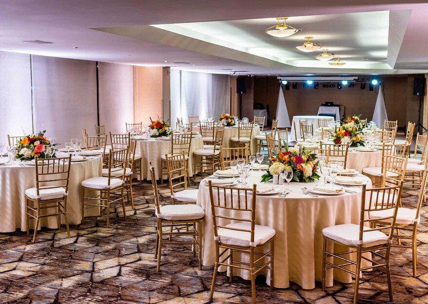 Una vista espectacular para tu boda: ¡el piso 11 del Clarion Hotel Bogotá Plaza!