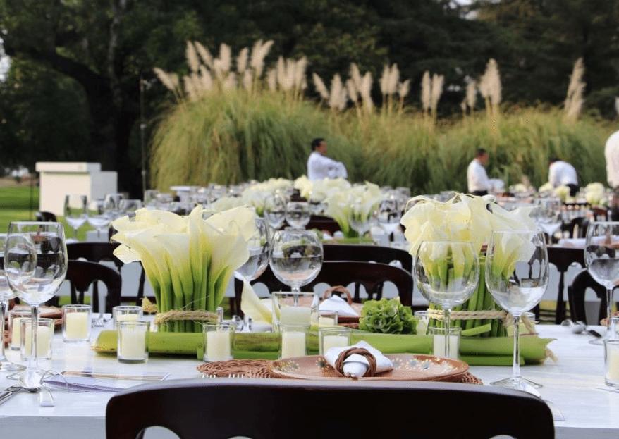 Banquetes Ortiz: un banquete espectacular de la mano de un montaje de ensueño