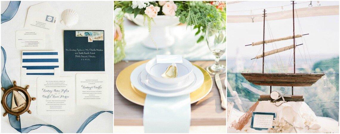 Décoration de mariage thème marin : fraîcheur et simplicité