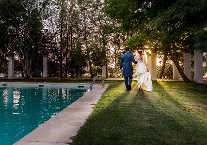 """Un amor de verano que acabó en """"sí, quiero"""": la boda de Beatriz y Santiago"""