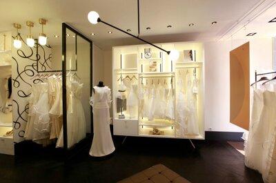 Suzanne Ermann Paris : une nouvelle boutique pour des robes de mariée modernes et féminines