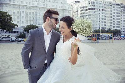 Michele & Bruno: casamento clássico em vinícola gaúcha com ensaio maravilhoso no Rio!