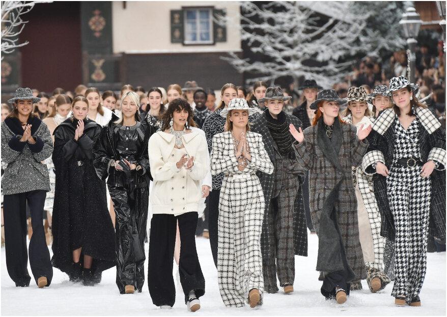 El primer desfile de Chanel sin Karl Lagerfeld: ¡así fue el adiós al káiser de la moda!