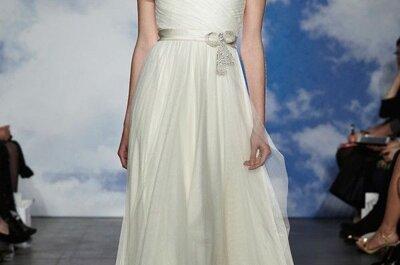 Tendencias must para el 2015: Los vestidos de novia con hombros caídos llegan para conquistar la escena nupcial