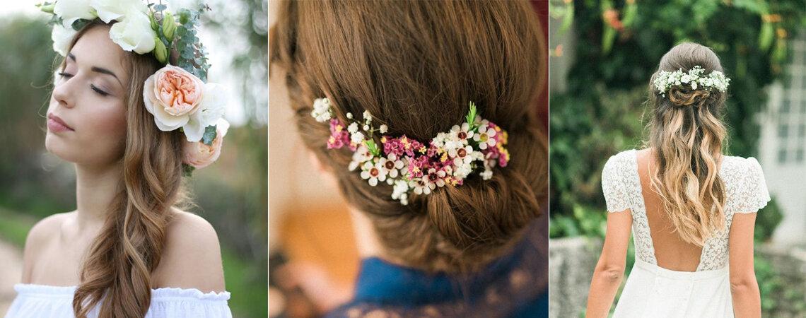 6 decotes, 6 penteados: escolha o seu penteados de acordo com o seu vestido de noiva