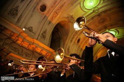 Quais músicas brasileiras usar na cerimônia de casamento?
