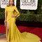Jennifer Lopez wearing Giambattista Valli.