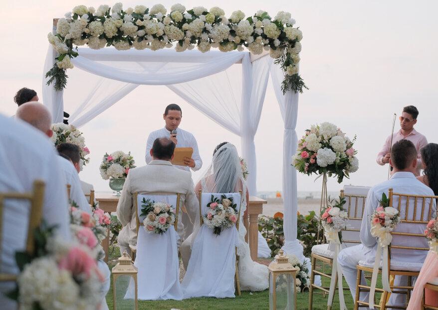 Según Anem Bridal Consultants, una de estas siete razones te dice que necesitas wedding planner