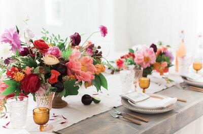 Los 10 mejores colores para decorar tu boda este 2016: ¡Un gran día de impacto!
