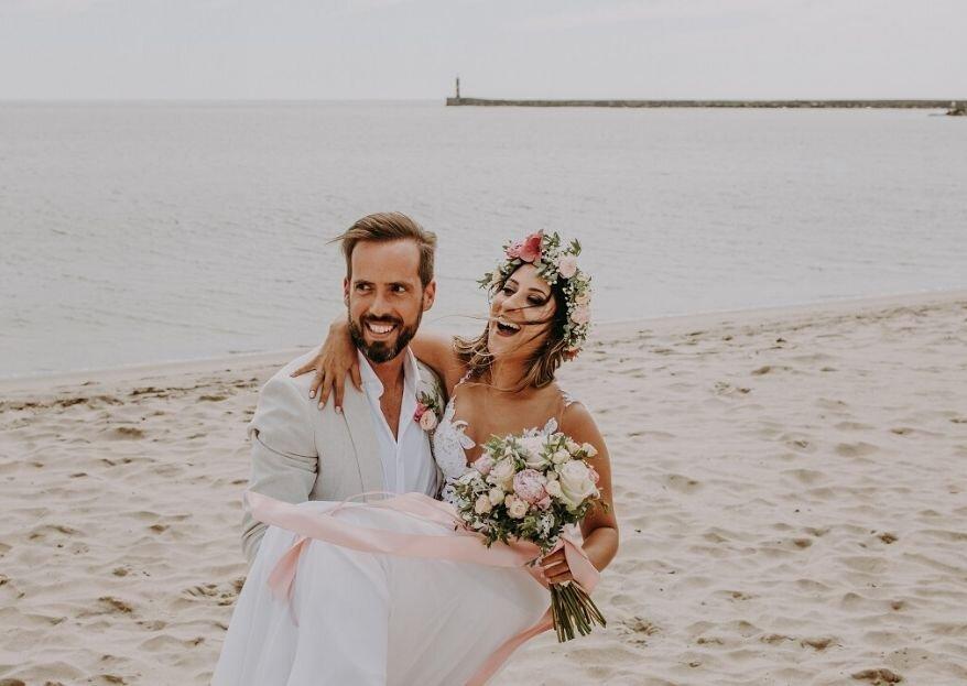 Catarina & David: de colegas de trabalho a parceiros de vida!