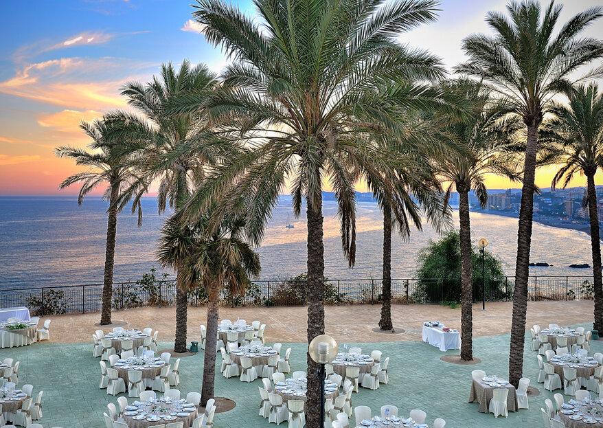 """¿Sueñas con una boda espectacular? Disfruta de la costa malagueña para tu """"sí, quiero"""""""