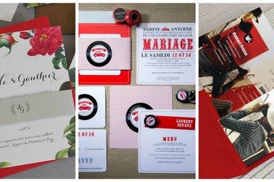Un mariage en rouge et blanc : nos meilleures idées !