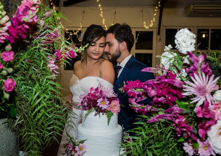 Letícia & Anthoni: Tons de marsala para decorar o casamento boho-chique do jeito que os noivos sonharam
