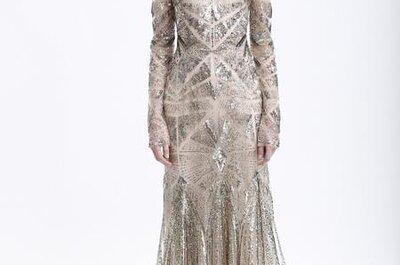 Vestidos de fiesta colección de Monique Lhuillier para otoño 2013