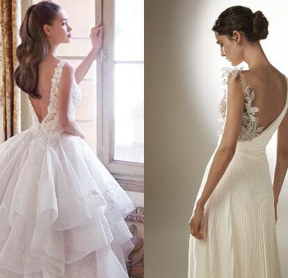 100 Vestidos De Novia Con Espalda Descubierta 2021 Sensualidad Que Te Cautivará