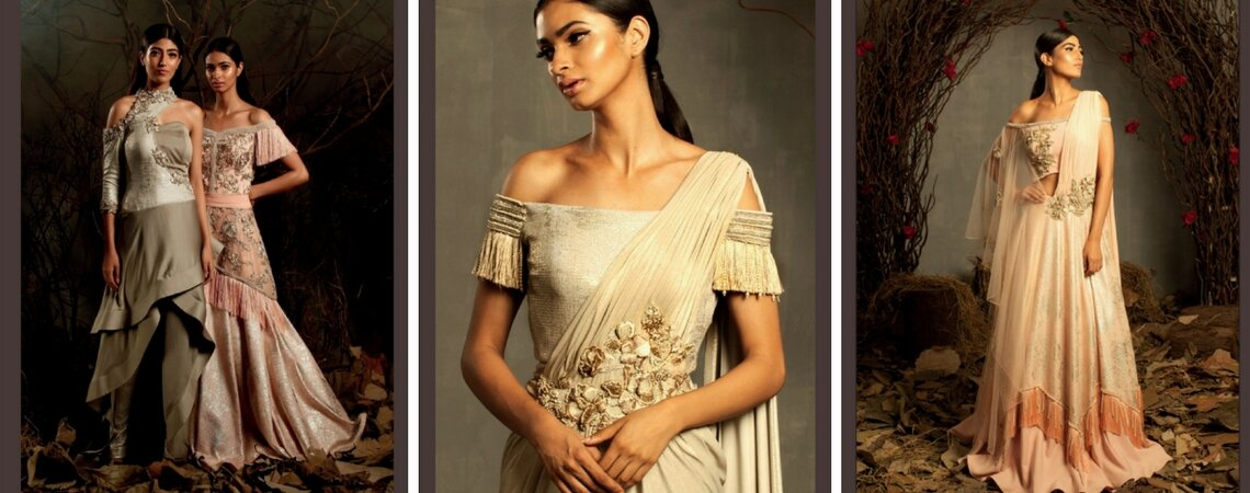 Kamaali Couture Bridal S/S 2018: Modern Gowns with a Traditional Touch